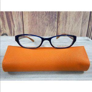 TORY BURCH TY2009 844 Eyeglasses Frame Blue *READ*